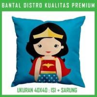 Bantal Wonder Woman Chibi 2 WOWN02 Bantal Sofa/Mobil