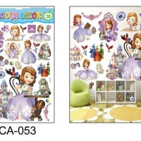 wallpaper wall sticker princess sofia the first