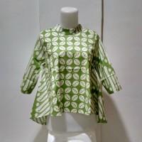 Baju Atasan Wanita - Blouse Batik Modern - Atasan Model