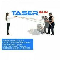 Stun Gun Taser Laser Murah / Alat Kejut Jarak Jauh
