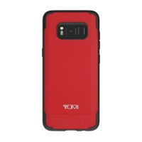 TUMI Samsung S8 Coated Canvas Co-Mold Case - Red