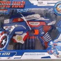 Pistol Civil War Captain America (Pistol nerf)