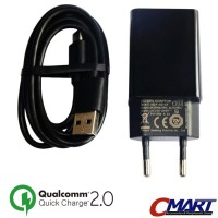 Xiaomi Colokan Listrik Micro USB Quick Charge 2.0 Charger - MDY03AF-CM