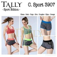 [ KODE 3907 ] Celana Pendek Sport Tally - CELANA OLAHRAGA