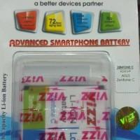 Baterai VIZZ Double Power ASUS Zenfone C 2600mAh