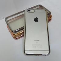 CHROME CLEAR SOFT Tpu Case Shining Crum Iphone 6 Iphone 6 Plus