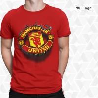 LIMITED !!!Baju 3D Manchester United Logo