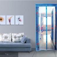 (Sale) tirai pintu magnet anti nyamuk / tirai magnetic motif