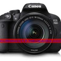 (Kamera DSLR) Canon EOS 700D Kit EF-S 18-55mm IS STM