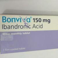 limited Bonviva 150 mg ibandronic acid obat osteoporosis