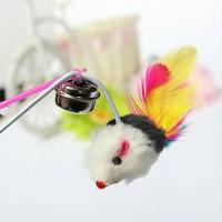Harga mainan kucing tongkat mainan hewan lonceng cat toy pet toy | WIKIPRICE INDONESIA