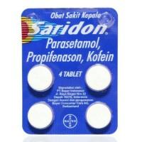 Saridon isi 4 tablet
