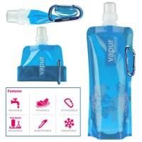 Botol Tempat Minum Lipat Mini Camping Outdoor Freezing Anti Bottle