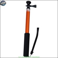 Tongsis Monopod Round Mount universal Action Cam dan HP - orange Y1131