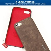 X-Level Vintage Apple Iphone 5 5S Se Soft Hard Casing | Sarung Hp |