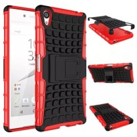 RUGGED ARMOR Sony xperia Z5 Z5+ plus premium dual case casing cover hp