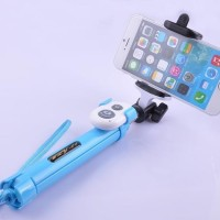 (Diskon) Tongsis Mini Tripod dengan Tomsis Bluetooth/ Monopod Remot