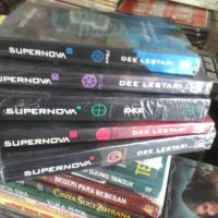 BUKU MURAH novel supernova satu set 1-5 by dee