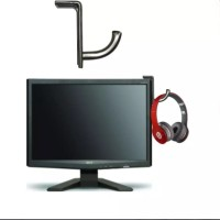 Stainless Steel Hanger Headset Headphone Stand Gantungan For Gaming