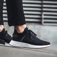 d160676b3 Adidas NMD R2 Japan Black Sepatu Jalan Pria Sneakers PREMIUM