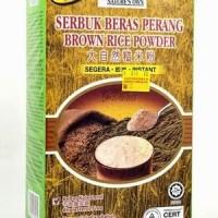Susu Beras Cokelat Bubuk/ Serbuk Beras Perang Brown Rice Powder