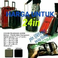 24in LUGGAGE cover/pelindung koper