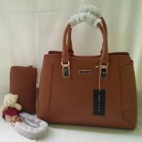 3360 Premium Tas Fashion Wanita / Tas Kerja / Warna Coklat