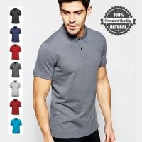 Kaos Polo Polos Premium Shirt Baju Kerah Pria Wanita Distro Lacoste