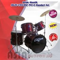 Drum Akustik ISUZU CYCLONE PVC-5 / PVC5 / PVC 5 Standart Set