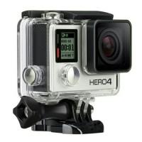 Waterproof Case For GoPro Hero 4 Silver / Black