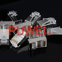 Konektor RJ45 Metal Shielded Ethernet Network Connector steker AC28