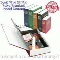 Jual BookSafe/ Book Save/ Buku Brankas Model Kamus/Dictionary 265x197x65 mm Murah