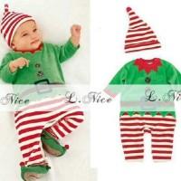 Romper L nice Christmas baby santa