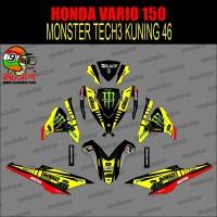 Sticker striping motor stiker Honda Vario 150 Monster TECH 3 Spec B