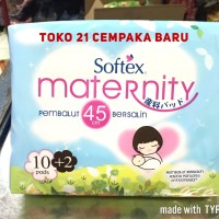 Softex Maternity isi 10 Pembalut Wanita Bersalin Hamil Nifas Maternity