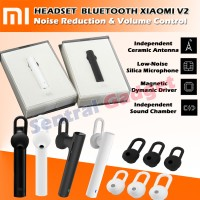 Headset Xiaomi Bluetooth Versi 4.1 Earphone Mi Youth Version + Volume