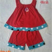 Setelan Katun Kaos Bayi Perempuan, Pakaian Sehari hari