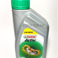 OLI SAMPING CASTROL ACTIV 2T LOW SMOKE 0,7 ORIGINAL PRODUCT