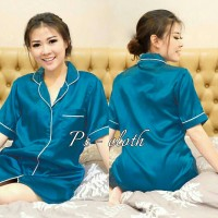 (nz7) dress piyama tosca