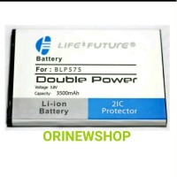 Batre Baterai Battery Oppo Find 7 Blp575 Blp 575 Double Power