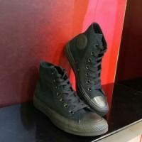 harga Sepatu Converse All Star Hi 1w881 Monoblack Original Tokopedia.com