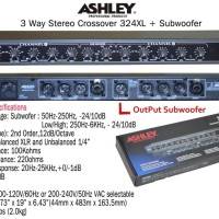 Crossover Ashley 324XL + Subwoofer