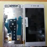 Lcd 1set Plus Frame For Oppo R7 Original White