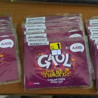 Paket Internet Axis 1GB