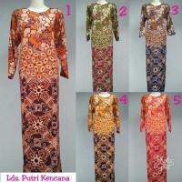 Jual Gamis rayon murah / longdress batik pekalongan / baju menyusui /daster Murah
