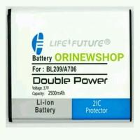 Batre Baterai Battery Lenovo A706 Bl209 Double Power