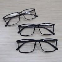 kacamata frame rectangle besar