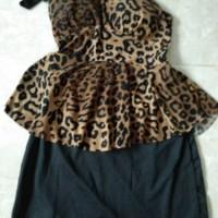 dress trio macan murah meriah