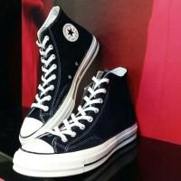 harga Sepatu Converse Allstar Chuck Taylor 70,s Black White High Original Tokopedia.com
