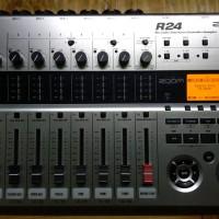 ZOOM R24 Recorder/ Controller/ Audio Interface-Soundcard Recording